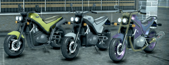 Shard - front left of three Shards in Saints Row 2