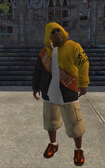 Vice Kings male Killa1-04 - black - character model in Saints Row