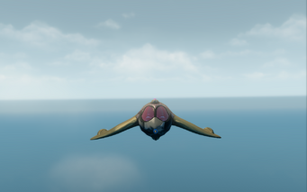 Aegean - front in flight in Saints Row The Third