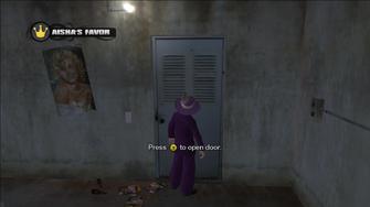 Aisha's Favor - Press Y to open door