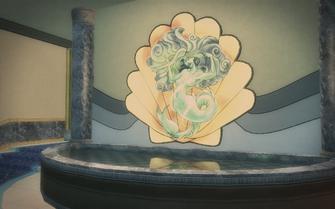 Poseidon's Palace interior art