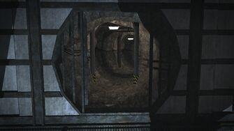 Pyramid - tunnel