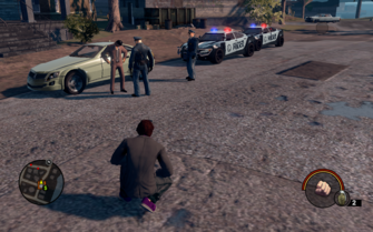 Steelport Police with NPC