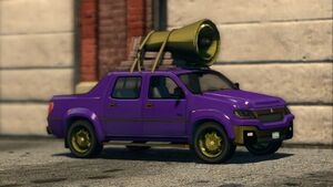 Torbitron - front right in Saints Row The Third