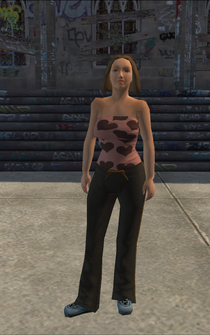 Generic young female 03 - whiteTube - character model in Saints Row