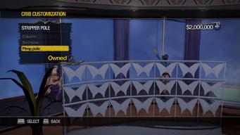 Penthouse Loft - Crib Customization - Stripper Pole - Pimp pole