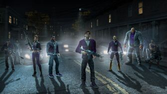 Saints Row The Third promo - Josh, Shaundi, Gat, Playa, Angel, Oleg, Kinzie