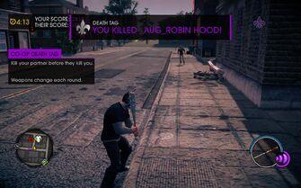 Death Tag Co-op Death Tag tutorial in Saints Row IV