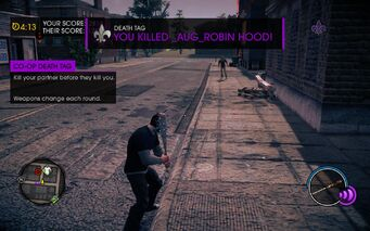Death Tag Co-op Death Tag tutorial in Saints Row IV