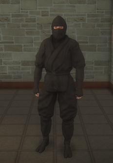 Gang Customization - Ninjas - male lieutenant 1 - white
