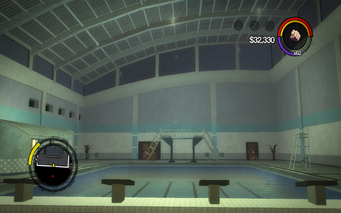 Marshall Winslow Recreation Center - swimming pool with ceiling