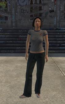 Poor female - asian poor female - character model in Saints Row