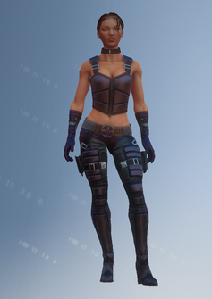 Shaundi - super powered - character model in Saints Row IV