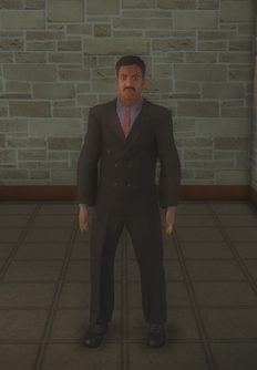 Talk show host 2 - character model in Saints Row 2