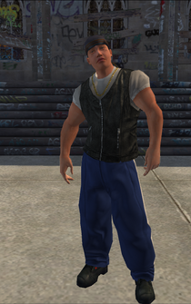 Westside Rollerz male Killa2-03 - asian - character model in Saints Row