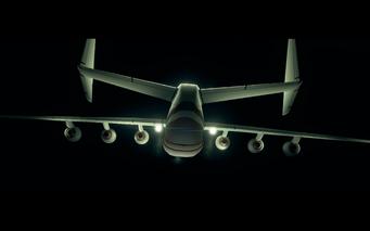 Air Steelport - rear of the Gawalek A36 jet