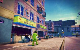 Cecil Park in Saints Row 2 - Fresh Tortillas
