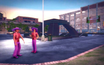 Encanto in Saints Row 2 - park