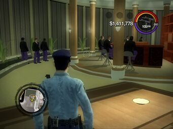 Gang Customization - Bodyguards gang style in Saints Row Mega Condo