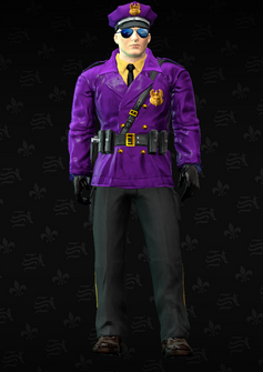 Gang Customization - Cop 1 - Alejandro - in Saints Row The Third