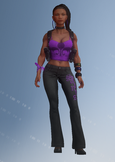 Gang Customization - Saint 2 - Johanna - in Saints Row IV