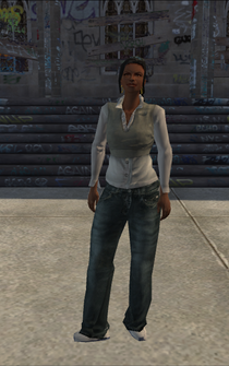 Generic black female - bl3 - character model in Saints Row