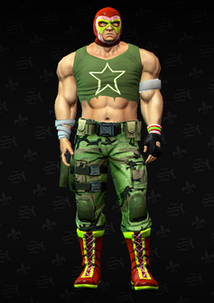 Luchador grunt 1 - Nacho - character model in Saints Row The Third