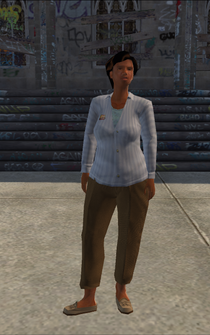 MiddleAge female 01 - SRBrownBaggersLiqourStore - character model in Saints Row