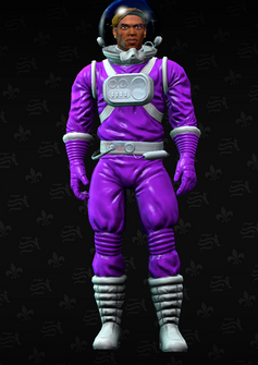 Pierce spacesuit - character model in Saints Row The Third