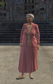Saints Row Hitman Target 01 - OldWoman - Julia