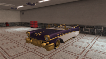 Saints Row variants - Hollywood - BlingedPurple4 - front left