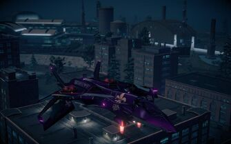 Saints VTOL - front right in Saints Row IV