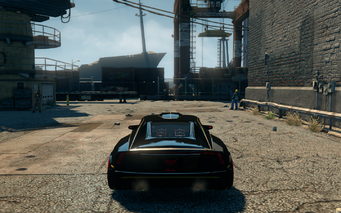 Wraith - rear in Saints Row The Third