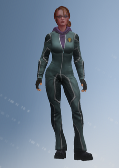 Kinzie - jumpsuit - character model in Saints Row IV