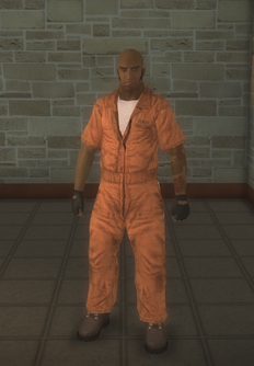 Prisonfight - black Prisonfight male B - character model in Saints Row 2