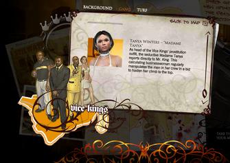 Saints Row promo website - Tanya