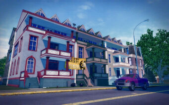 Sommerset in Saints Row 2 - Frat house