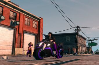 X-2 Phantom outside Rim Jobs - front left in Saints Row The Third