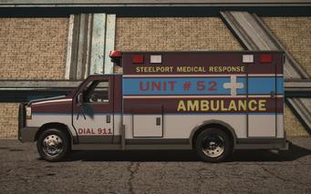 Ambulance - Average - left in Saints Row IV
