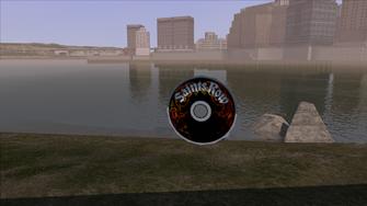CD Collection in Saints Row