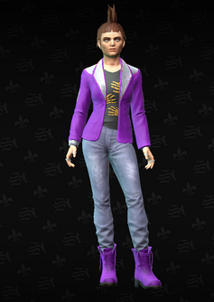 Gang Customization - Punk 4 - Myra - in Saints Row The Third