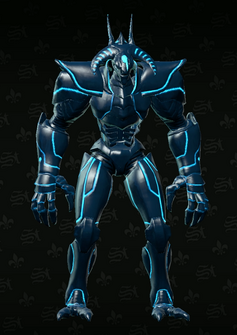 Matt Miller Avatar - bahamut - character model in Saints Row The Third