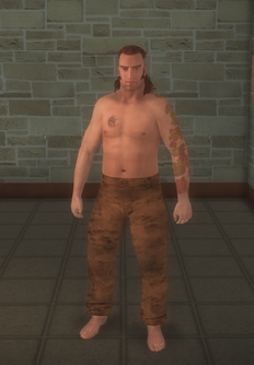 Prisonfight - black Prisonfight male A - character model in Saints Row 2