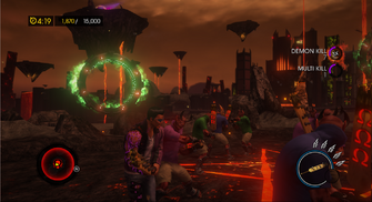 Saints Row Gat out of Hell - Pledge Rush at The Plutonion