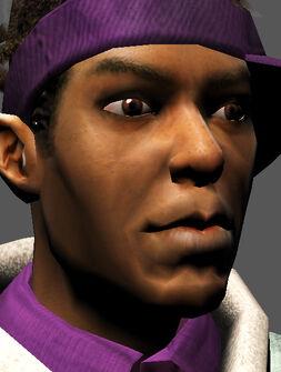 Saints Row character render - Dex's face