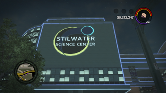 Stilwater Science Center in Saints Row 2 - Exterior Night