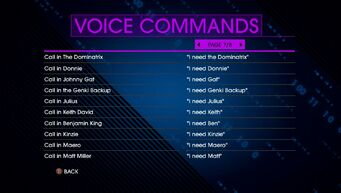 Voice Commands Page 7 - Saints Row IV Re-Elected