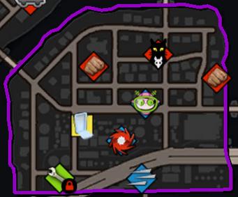 Arapice Island map in Saints Row IV
