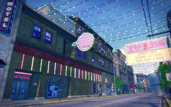Bavogian Plaza in Saints Row 2 - Porno Palace