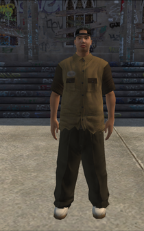 Chop Shop - Dennis - character model in Saints Row
